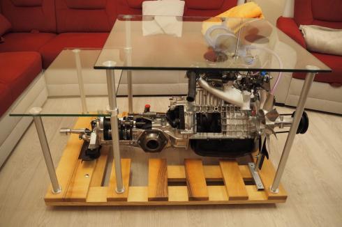 Motor Š100 - stůl